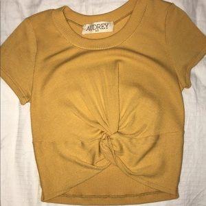 Aubrey 3+1 Yellow (mustard)